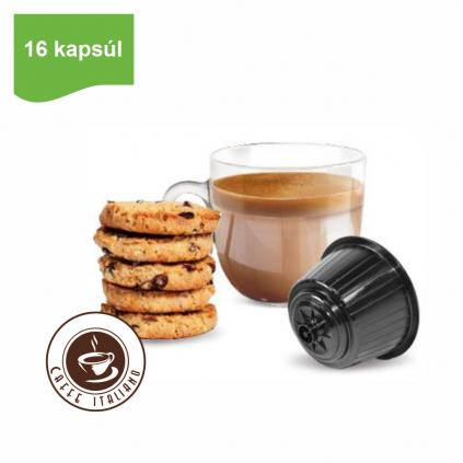 aKapsule Dolce Gusto® Bonini Biscotto 16ksbonini caffe biscotto susienka kapsule dolce gusto 16ks logo caffeitaliano