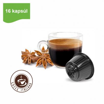 Kapsule Dolce Gusto® Bonini Caffe Sambuca 16ks