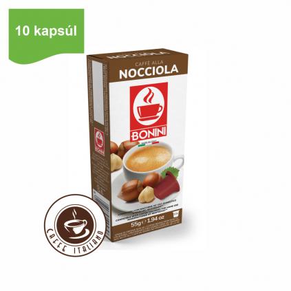Kapsule Nespresso®Bonini Oriešková káva 10ks