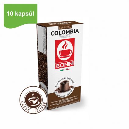 bonini caffe colombia kapsule nespresso 10ks arabica robusta logo caffeitaliano