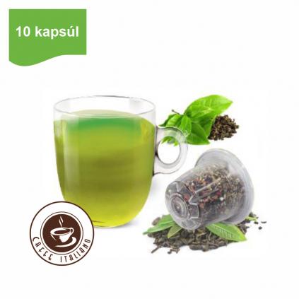 Kapsule Nespresso®Bonini Zelený čaj Tuareg 10ks