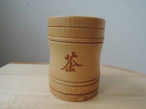 bambusová dózička na čaj 80ml