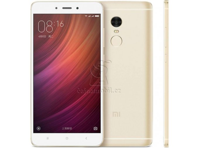 Xiaomi Redmi Note 4 4GB/64GB Global, zlatý