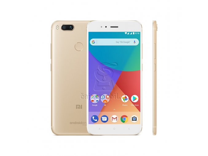 Xiaomi Mi A1 4GB/64GB Global, zlatý