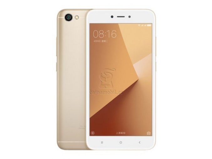 Xiaomi Redmi Note 5A 2GB/16GB Global, zlatý