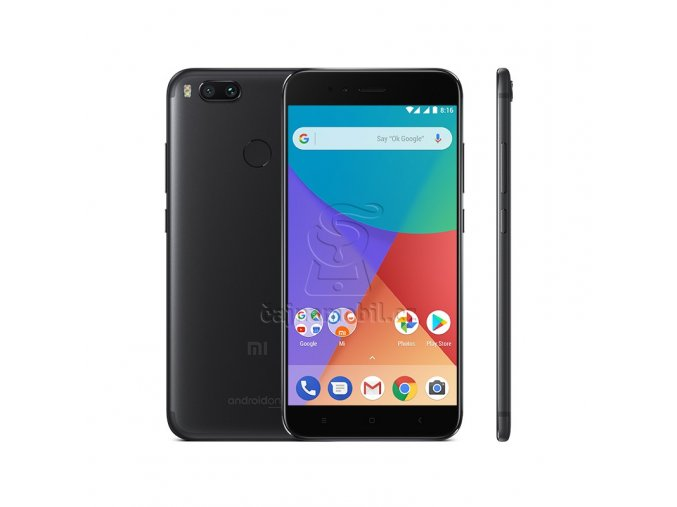 Xiaomi Mi A1 4GB/32GB Global, černý