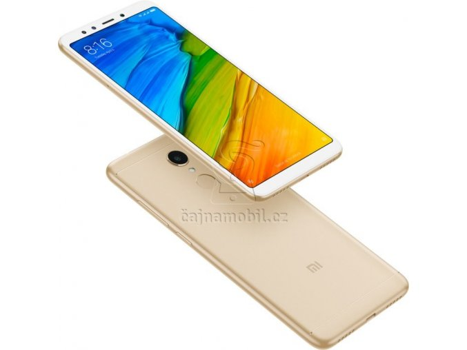 Xiaomi RedMi 5 Plus 32GB Global, zlatý