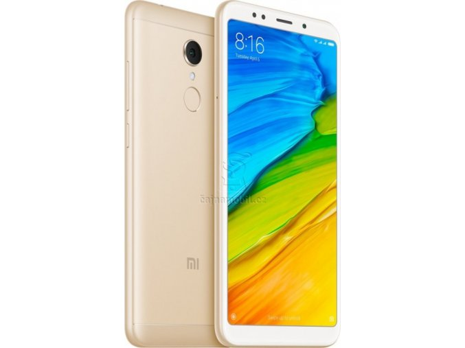 Xiaomi Redmi 5 2GB/16GB Global, zlatý