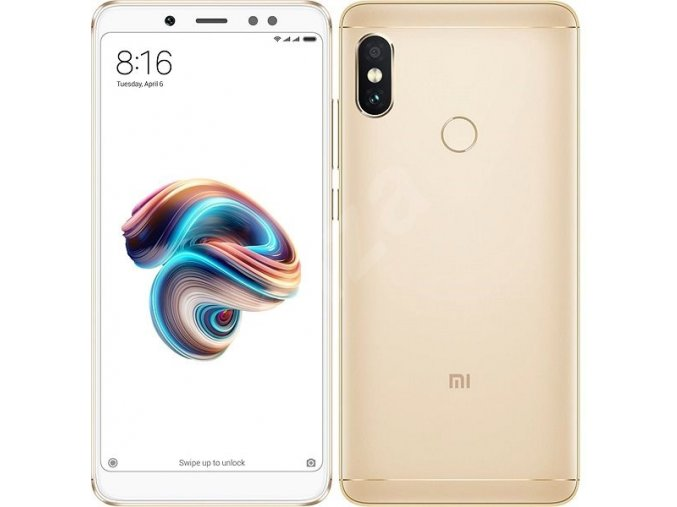 Xiaomi Redmi Note 5 4GB64GB Global, zlatý