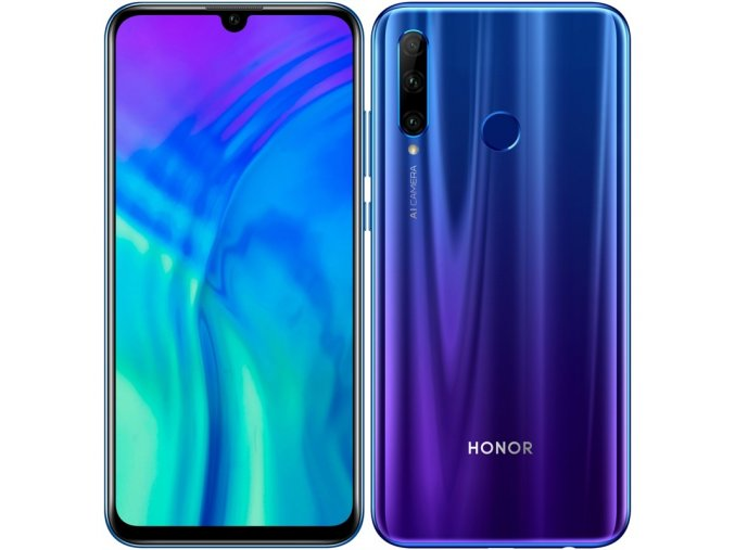 Honor 20 Lite 4GB128GB, modrý
