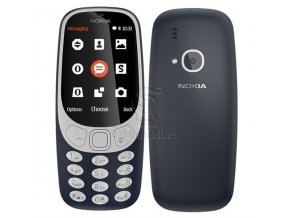 Nokia 3310 2017 Single SIM, modrá