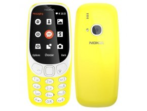 Nokia 3310 2017 Single SIM, žlutá