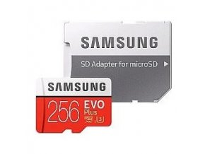 Samsung microSDXC karta 256GB EVO Plus MB MC256GAEU