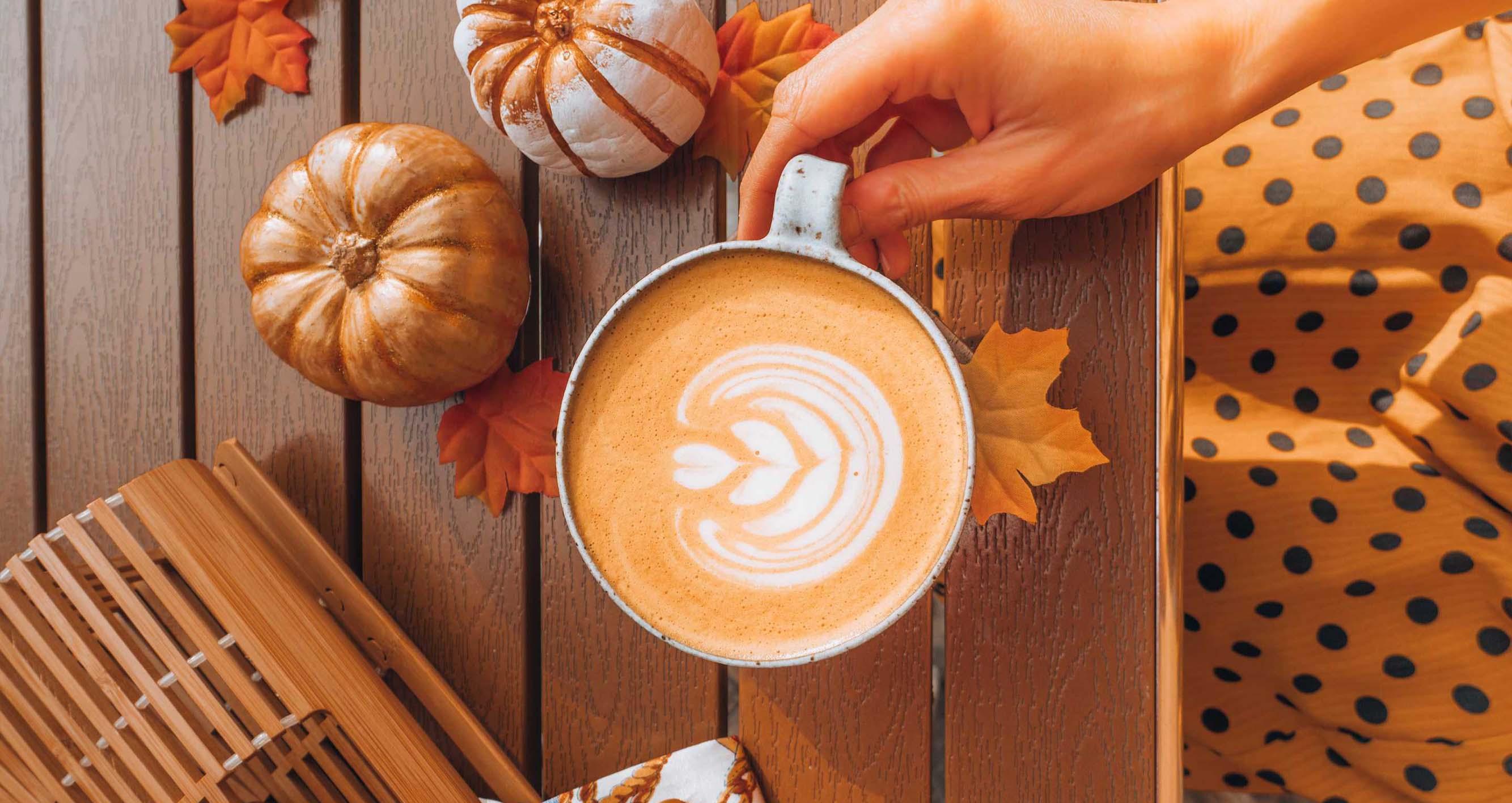 Dýňové latte.  Jak si tuhle podzimní klasiku připravit doma