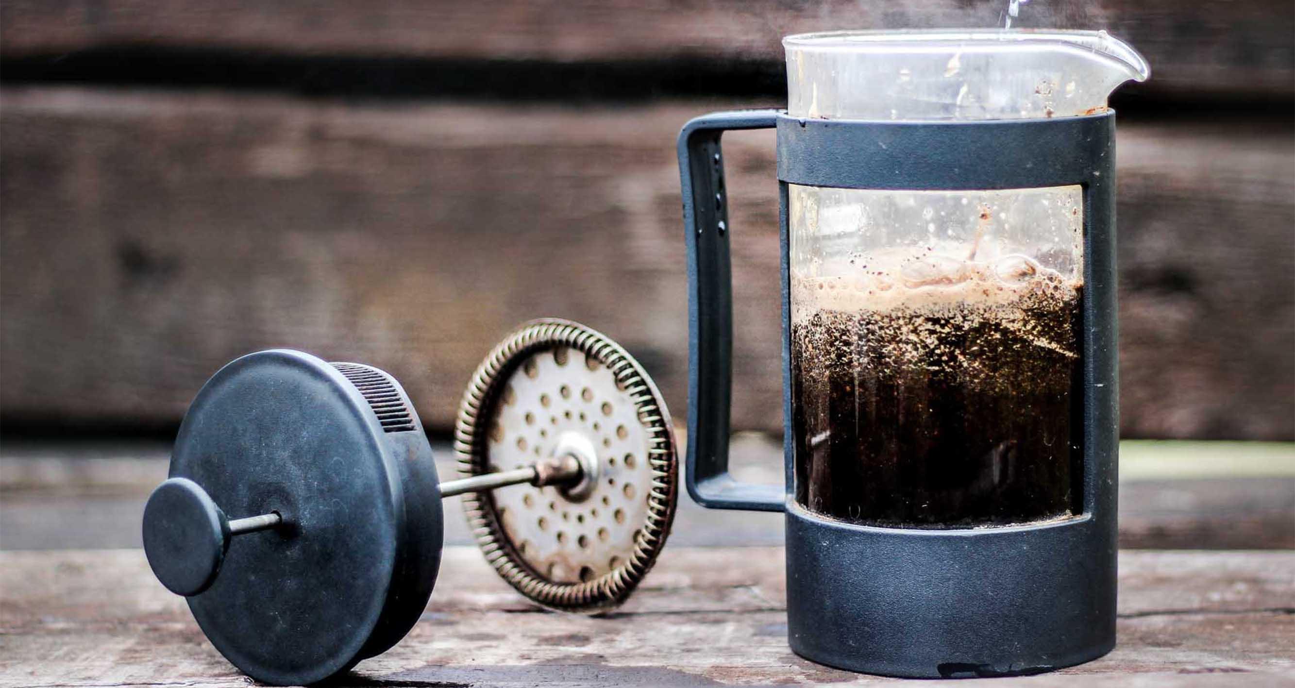 French press příprava kávy - Jednoduchá, rychlá a výborná arabika