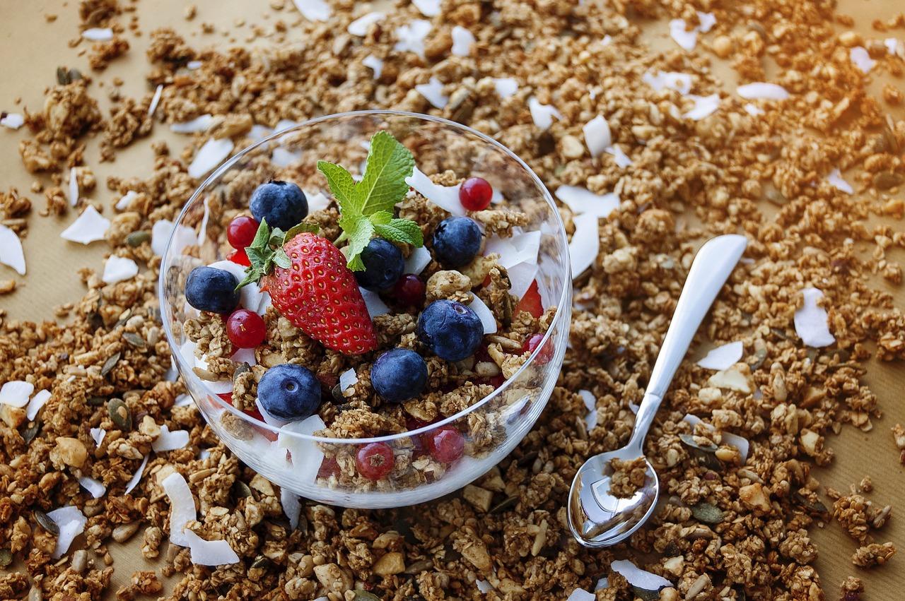 Domácí Matcha Granola - Jak si připravit úžasnou snídaní