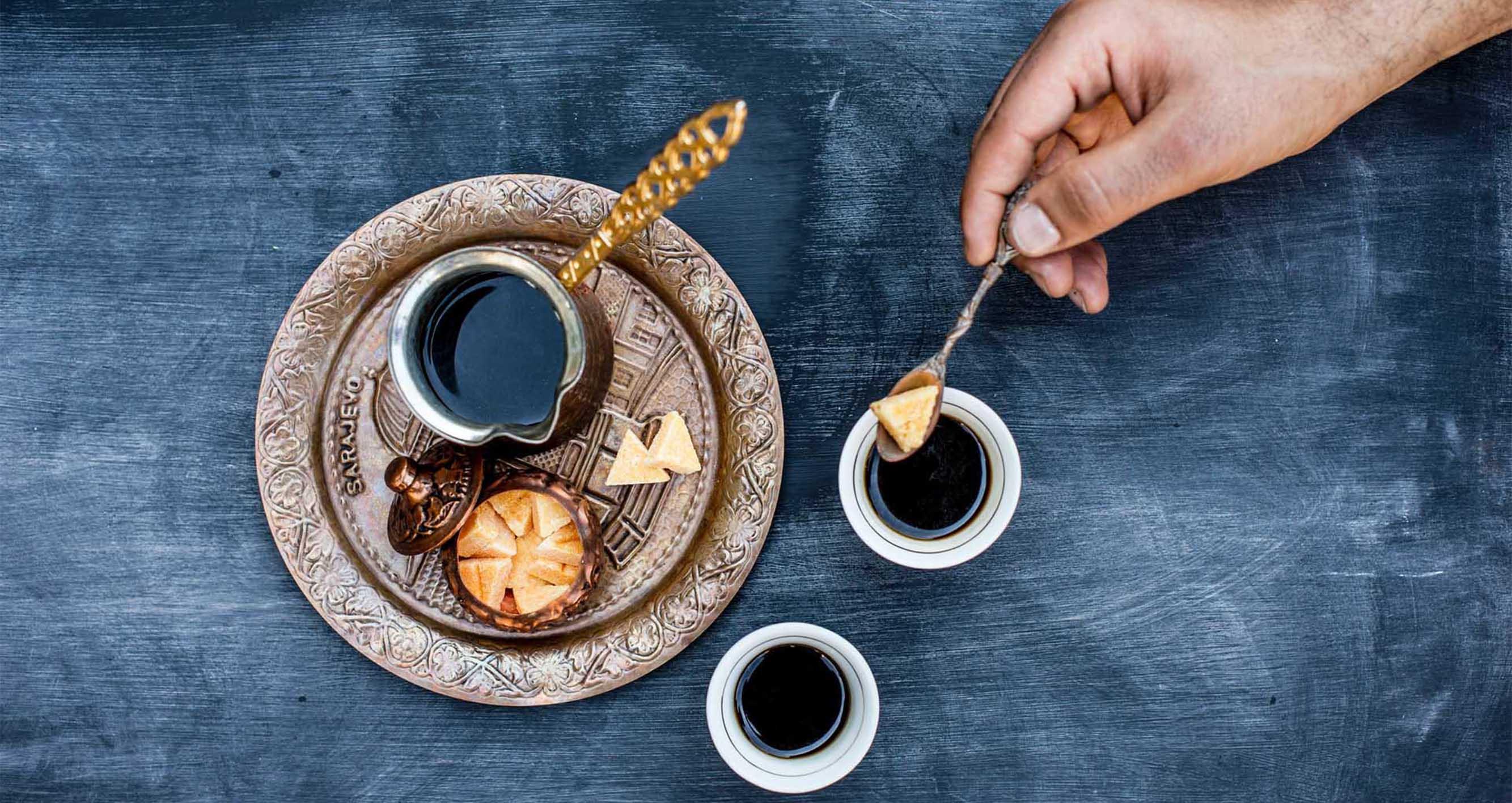 Tradiční turecká káva - Jak vařit kávu v džezvě