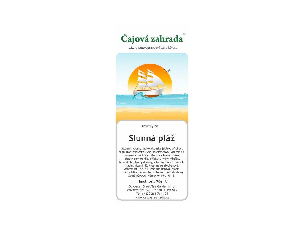 Ovocný sypaný čaj Slunná pláž