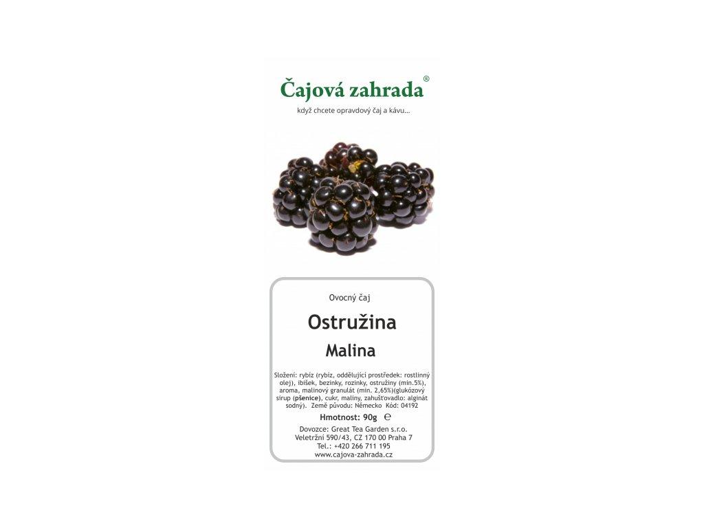 Ovocný sypaný čaj Ostružina Malina