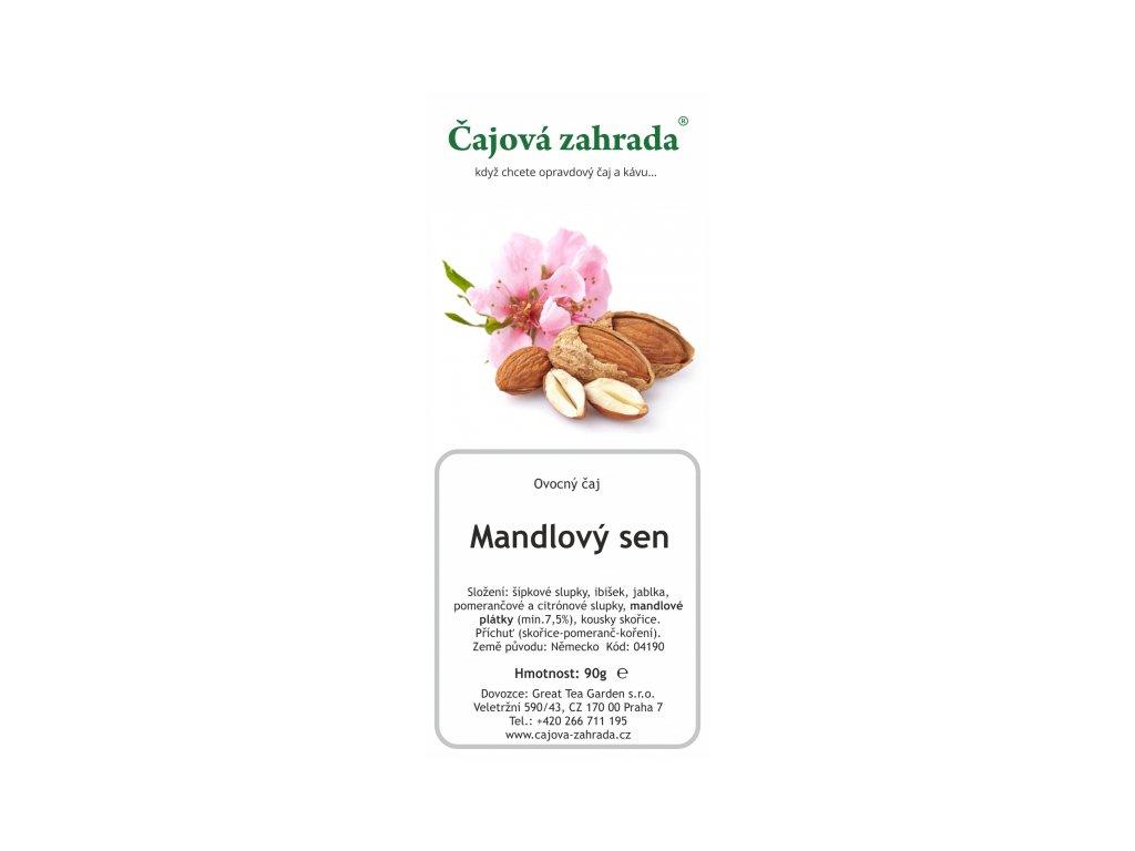 Ovocný sypaný čaj Mandlový sen