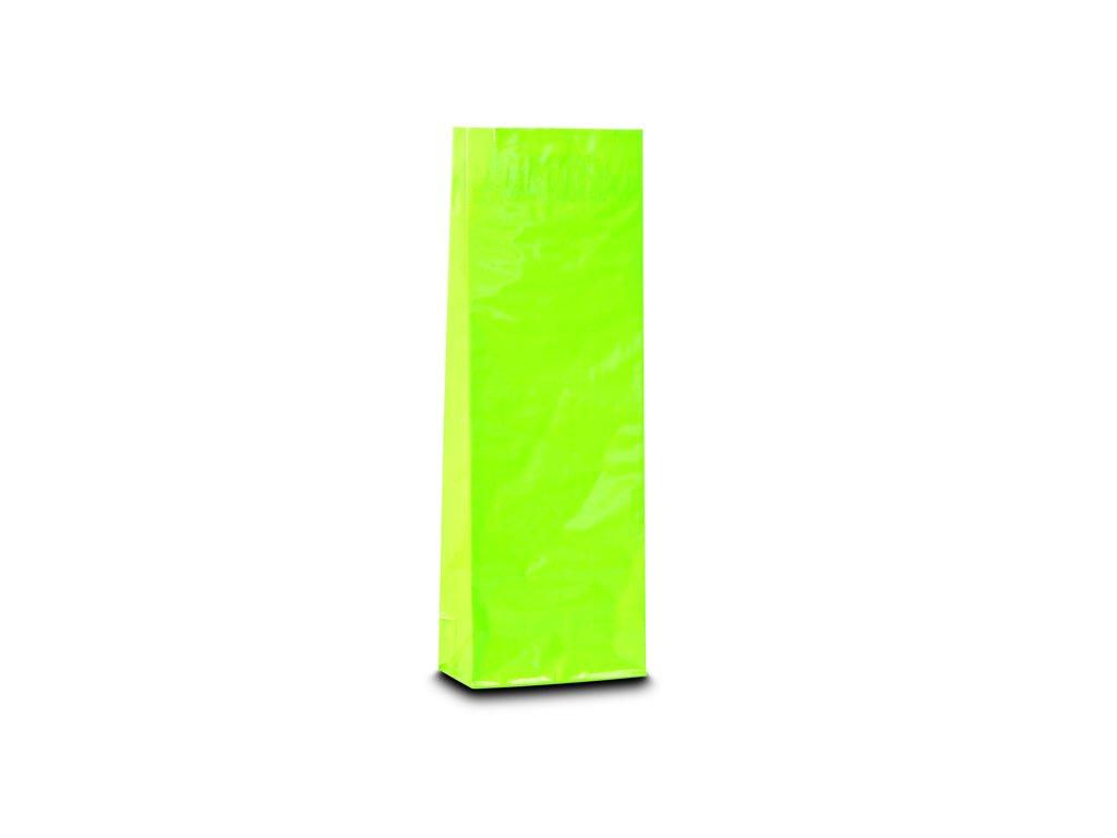 Třívrstvý světle zelený sáček_Čajová zahrada