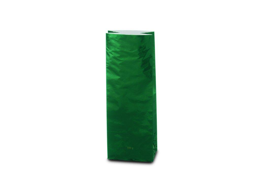 Třívrstvý zelený sáček_Čajová zahrada