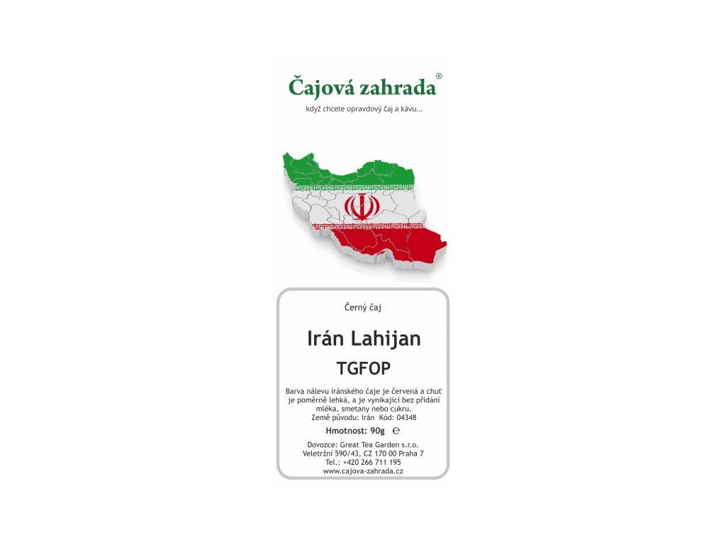 Írán TGFOP Lahijan - černý čaj
