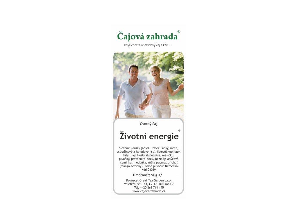 Ovocný sypaný čaj Životní energie