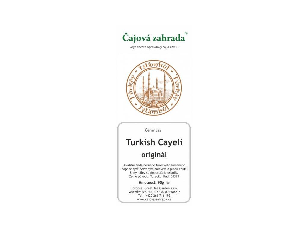 Turecký čaj Cayeli - černý čaj