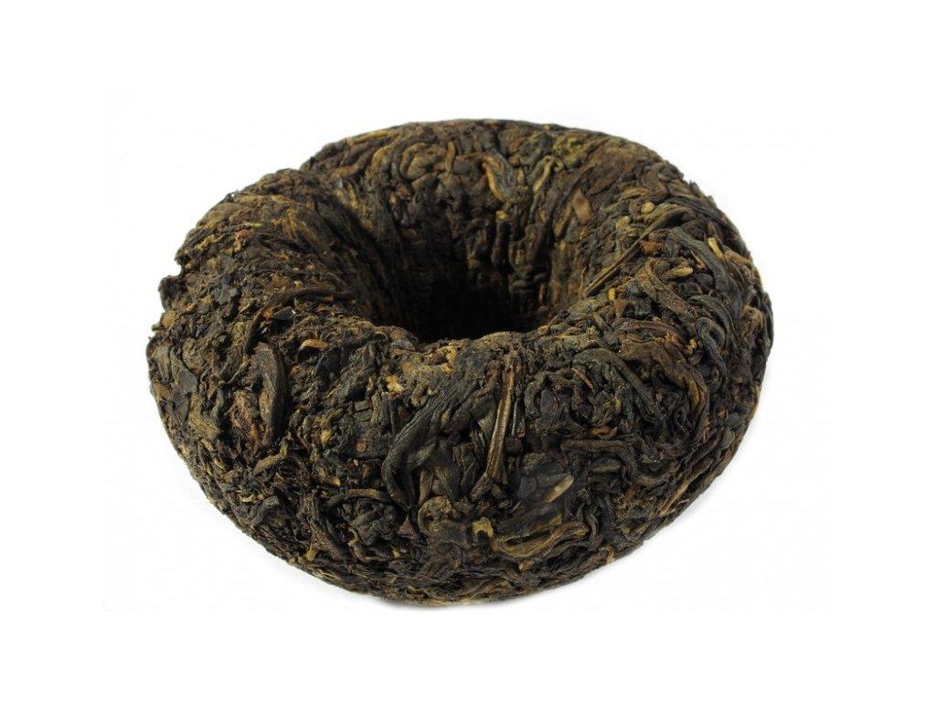 Puerh Tea Tuocha Green - zelený lisovaný čaj