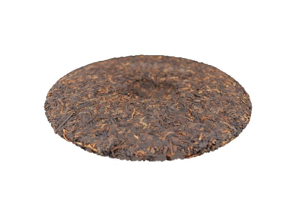 Puerh Tea Koláč Jingmai 357g - černý lisovaný čaj