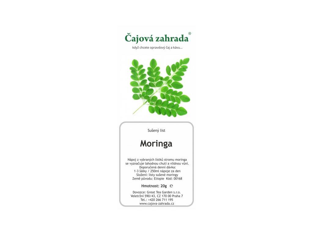 Bylinný čaj Moringa