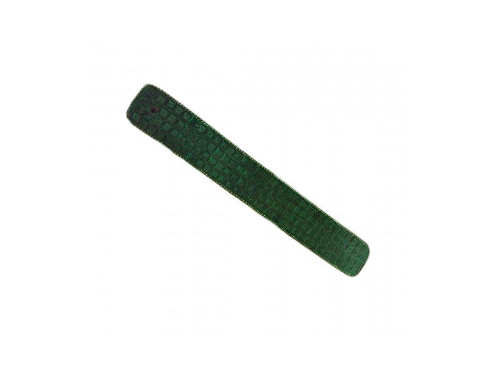 Stojánek na vonné tyčinky - zelený