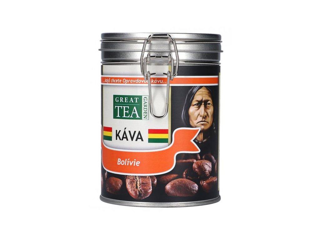 Bolivijská káva v dóze