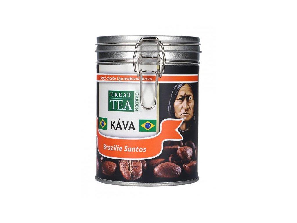 Brazilská káva v dóze - Santos
