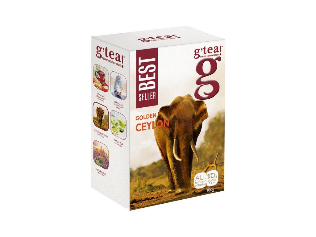 Anglický sypaný čaj G Tea Golden Ceylon