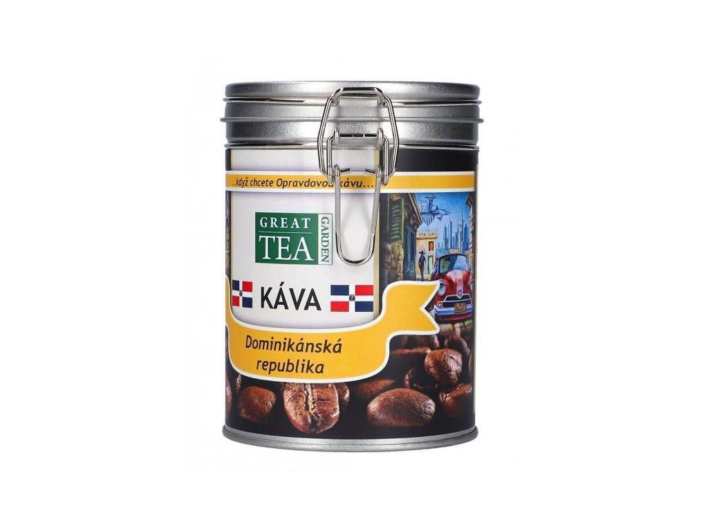 Káva arabica v dóze - Dominikánská republika