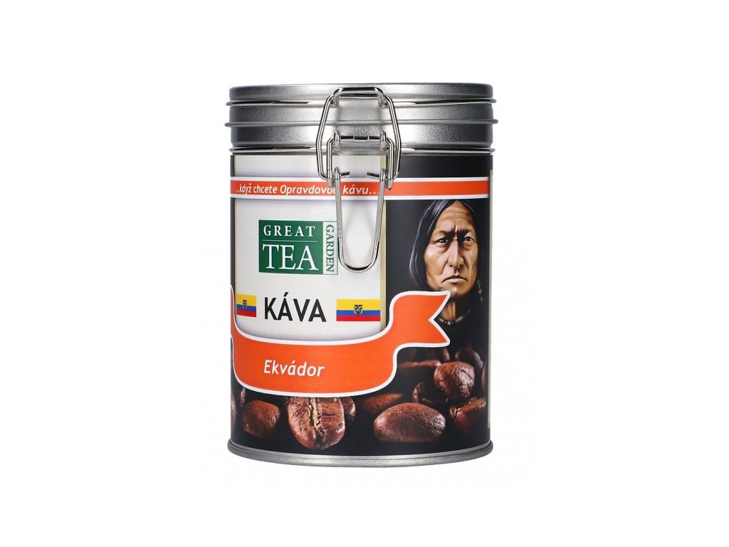Káva arabica v dóze - Ekvádor