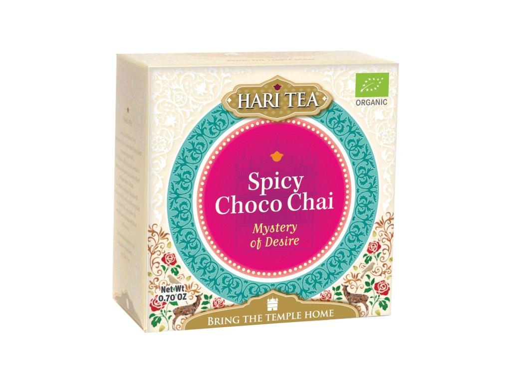Sáčkový ajurvédský čaj Hari Tea - Čokoláda & Chilli