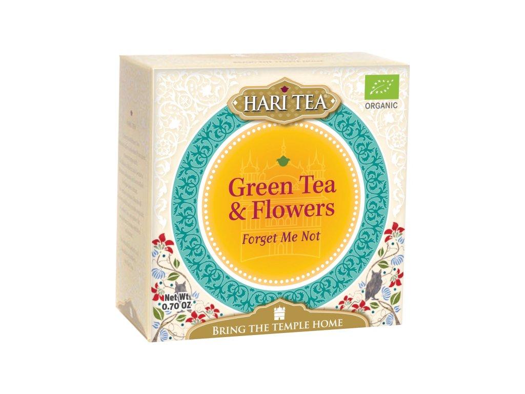 Sáčkový ajurvédský čaj Hari Tea - Zelený čaj & Bylinky