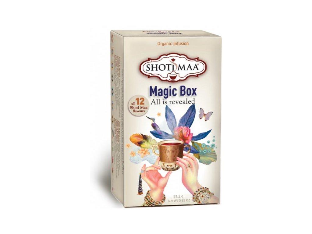 Sáčkový ájurvédský čaj - Magic Box