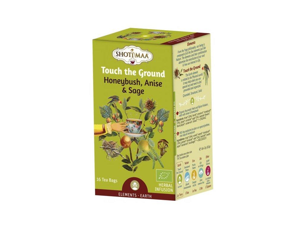 Sáčkový ájurvédský čaj - Země