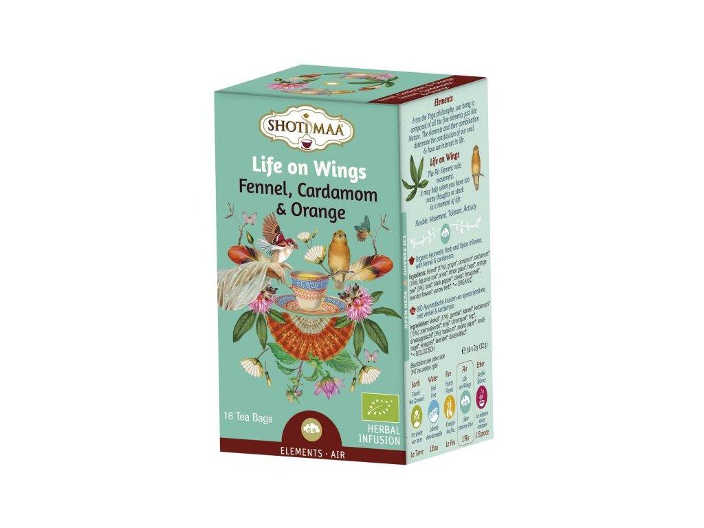 Sáčkový ájurvédský čaj - Vzduch