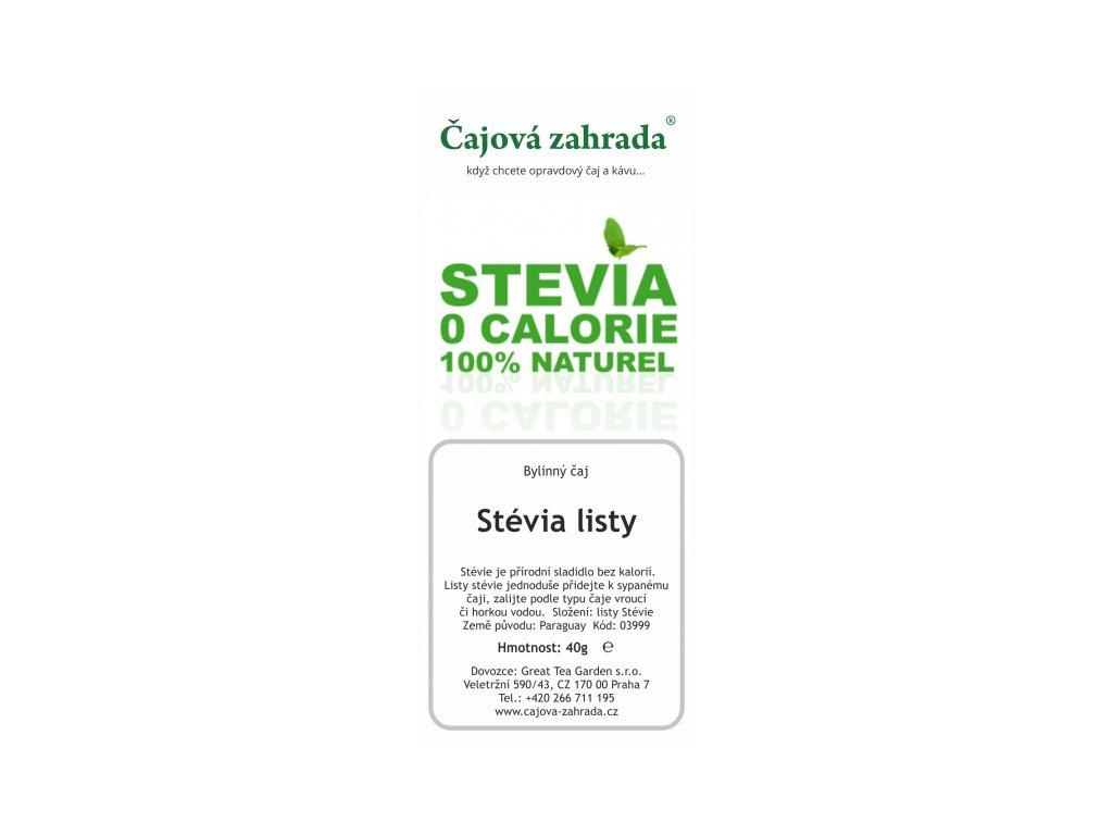 Bylinný čaj Stévie