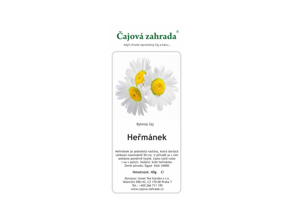 Bylinný čaj Heřmánek