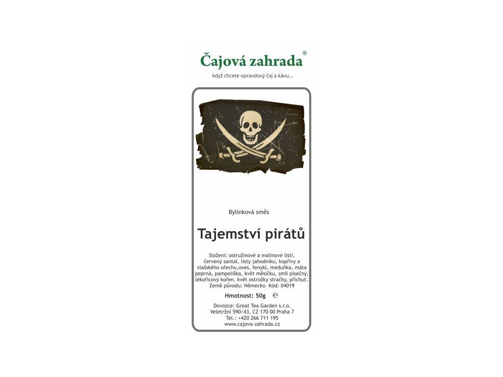 Bylinná směs Tajemství pirátů