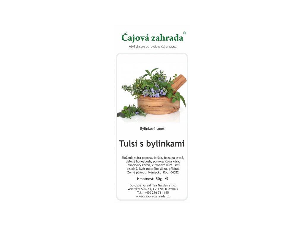 Bylinná směs Tulsi s bylinkami