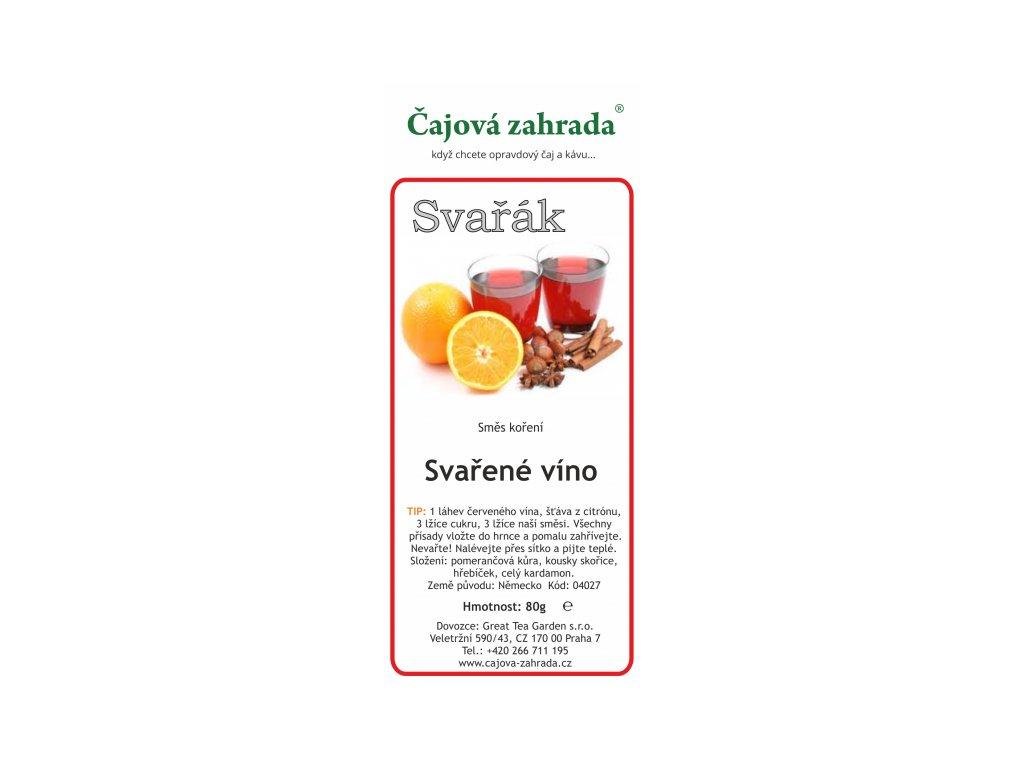 Směs koření na Svařené víno