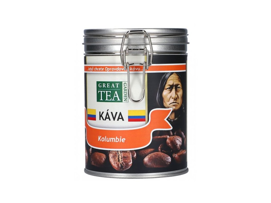 Káva arabica v dóze - Kolumbie