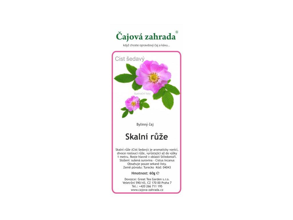 Bylinný čaj Skalní růže| Cist šedavý